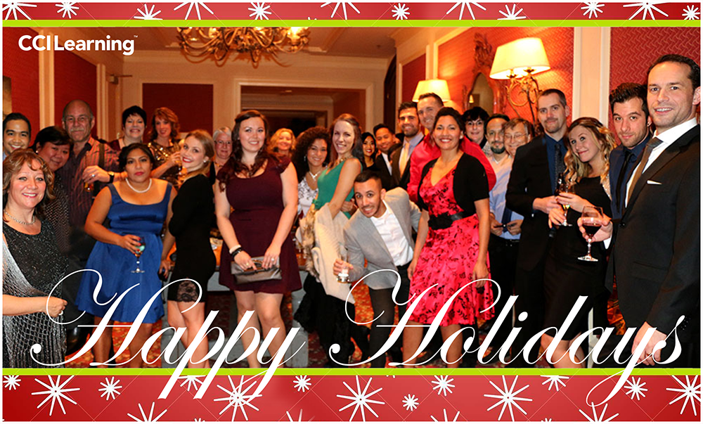 Happy Holidays from CCI Learning