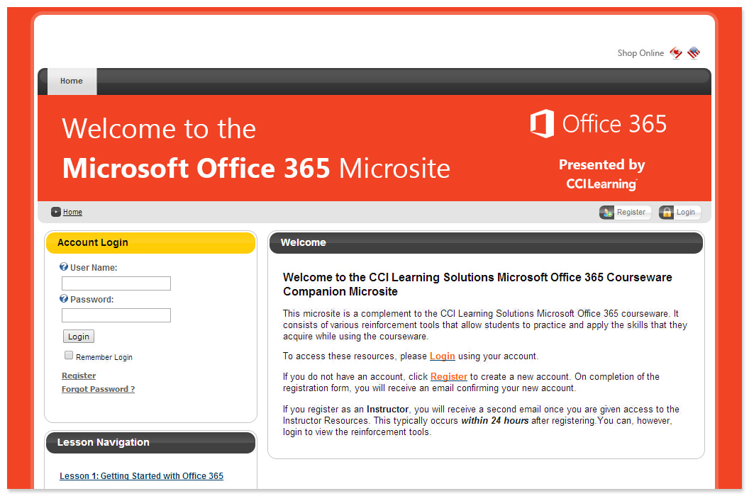 CCI-Learning-Office-365-Microsite-sample